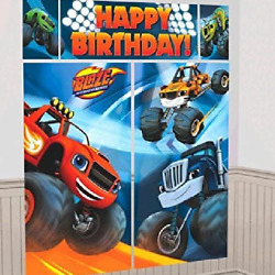 Blaze and the Monster Machines Party Scene Setter Wall Kit