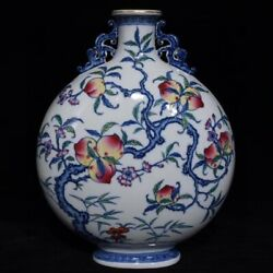 12.8and039and039 China Antique Vase Blue And White Porcelain Vase Old Pottery Vase Xzs