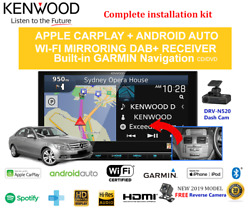 Kenwood Dnx9190dabs For Mercedes C-class 2008-2011 W204 - Stereo Upgrade