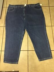 New Canon Ridge Men's Jeans size 52x32 Irregular Relaxed Pants Clothing $12.99