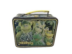 Vintage 1979 The Muppets Metal Lunch Box Fozzie Bear Jim Henson No Thermos