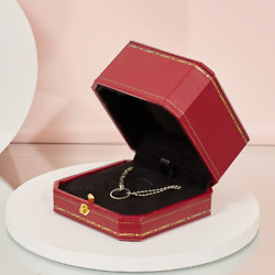 120x Necklace Pendants Gift Boxes Pu Leatherette Wedding Jewelry Chest Box