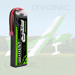 Ovonic 11.1v 5500mah 50c 3s Lipo Battery W/ Deans Plug For Rc Car Truck