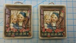 Hummel-wall-plaque-125-vacation-time  Pair