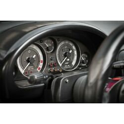 Classic Black Brushed Gauge Faces 140mph Fits Mx5 Na 89-97 Jass Performance 2243