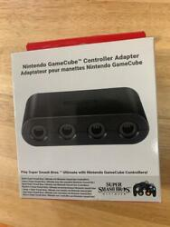 Authentic Nintendo Switch Gamecube Controller Adapter 4 Port Adapter New
