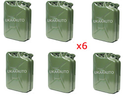 Land Rover 20l Steel Jerry Can - Khaki Part Br1016 X6
