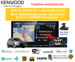 Kenwood Dnx9190dabs For Ford Ecosport Bk 2013-2016 - Stereo Upgrade