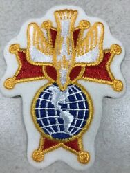 2 Knights Of Columbus - 4th Degree Patches 4 H K Of C
