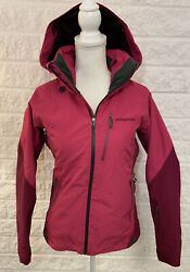 PATAGONIA Women's Insulated Powder Bowl Jacket Size XS Pink GORETEX MSRP $500 D6