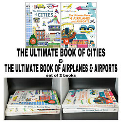 Ultimate Book Of Airplanes And Airports Cities Childrenand039s Travel Book Reference