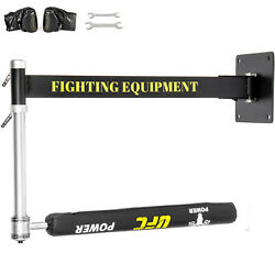 Boxing Spinning Bar Wall Mount Fitness Punching Adjustable Reflex Speed Training