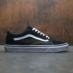 Vans Old Skool Black White Low Canvas Classic Skate Shoes FREE SHIPPING