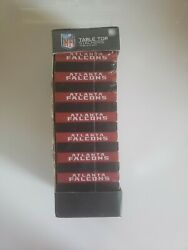 Brand New Nfl Atlanta Falcons Table Top Stackers Wood Blocks Game By Wild Sports