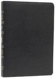 Holy Bible English Standard Version, Black, Genuine Leather, Crossway Bibles, A