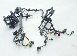 2017 2018 2019 Genesis G90 5.0l Rwd Front Complete Wire Harness Fuse Box 91202