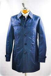 New 8950,00 Stefano Ricci Top Outwear Over Coat Leather Silk Us M Eu 50 G33s
