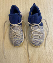Nike Boyand039s Zoom Kd 9 Ix Gs Kevin Durant Basketball Shoes 855909-411 Size 7 Child