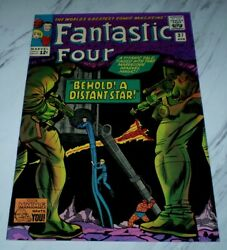 Fantastic Four 37 Nm+ 9.6 Ow/w Pages 1965 Marvel Silver Age