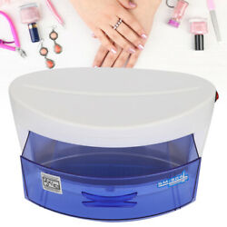 6w Nail Art Sterilizer Box Uv Ozone Nail Disinfection Manicure Implement Tool