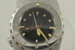 Vintage Vdb Automatic Men's Watch 1 13/16in Very Rare Pretty Personalised