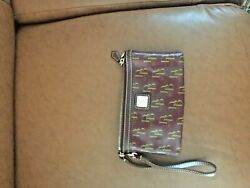 Dooney and Bourke designer wristlet pouch new condition $14.99