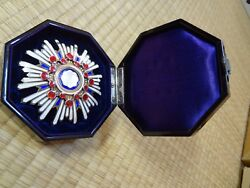 Ww2 Japanese Army 2th Orders Of The Sacred Treasure Medal Badge Army Navy Rare 2