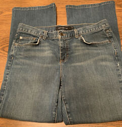 Womens Size 14 Calvin Klein Stretch Mid Rise Flare Jeans $4.40