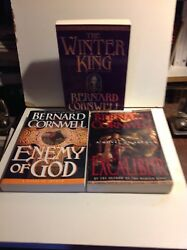 Warlord Trilogy Winter King , Enemy Of God , Excaliber ,arc/proof Lot,cornwell