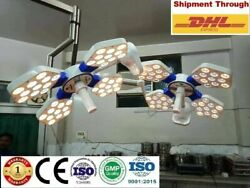 New Operating Light Double Dome Ceiling Ot Light Surgical Led Ot Lamp Surgery F@