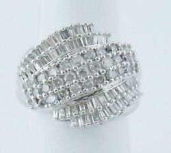 Wr28 A30 14 Kt White Gold 2 Cttw Fashion Ring