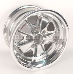 For Porsche 914 6 944 Fuchs Wheel 9x15 Polished Reproduction New