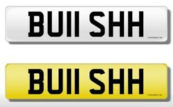 Private Number Plates Buii Shh
