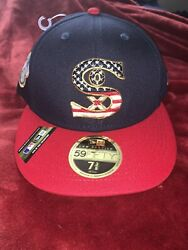 Chicago White Sox New Era NavyRed 2019 Stars & Stripes 4th of July 59FIFTY Hat $30.00