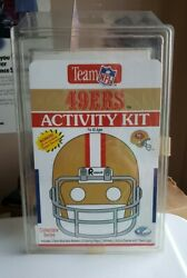 Vintage Nfl Sf 49ers Activity Set Mib 1993 Stickers Decals- Lanir Trading Co.
