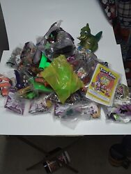 Fast Food Toys Of Wendy's, Burger King Fast Food Toys And Others Most Are Sealed