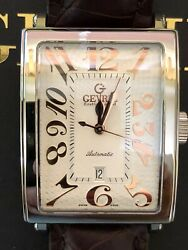 Gevriland039s Avenue Of Americas Automatic Menandrsquos Watch L.e. 84 Of 500 Model 5005a