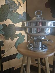 Chafing Dish Vintage Buenilummade In Usa 5 Pieces