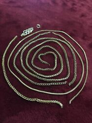 10kt Yellow Gold Mix Lot Scrap Or Wear Franko Pieces