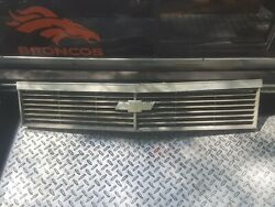 1978 Chevy Impala Upper Grille With Chrome Molding Oem With Grill Used Good