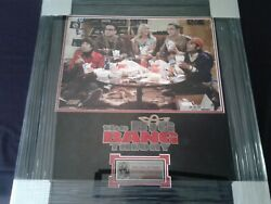 The Big Bang Theory, Cast Signed By 5, 16 X 20 Color Image, With C.o.a.