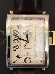 Gevriland039s Avenue Of Americas Automatic Menandrsquos Watch L.e. 76 Of 500 Model 5000a
