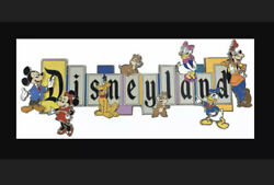 New Disneyland 65th Anniversary Marquee Limited Edition Boxed Jumbo Pin In Hand