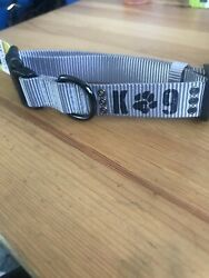 Top Paw Grey K9 Collar Size Med