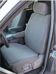 2000-2004 Toyota Sequoia Exact Fit Seat Covers Gray Twill Head/armrest Covers