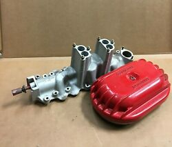 Vintage Tattersfield Intake And Air Cleaner For Ford Mercury Flathead