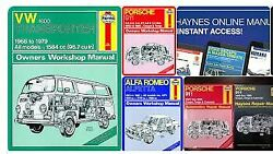 Haynes Auto Repair Manuals 15030 - 97020 - Brand New Sealed - Free Shipping