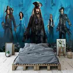 Witch Pirate Cloak 3d Full Wall Mural Photo Wallpaper Printing Home Kids Decor