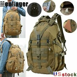 40L Camping Tactical Military Travel Backpack Climbing Hiking Outdoor Rucksack $25.99