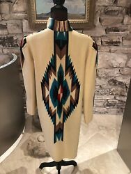 Incredible Vintage 1940s-1950s Chimayo Coat And Purse Size S/m